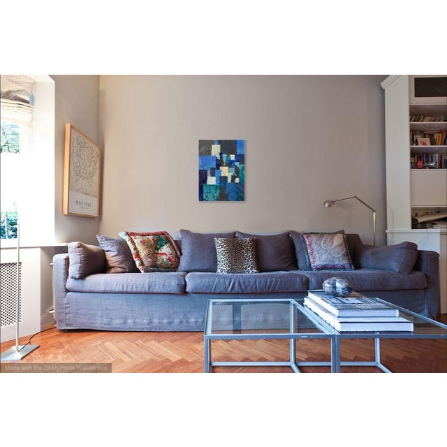 2010s Blue Tapestry For Sale - Image 5 of 8