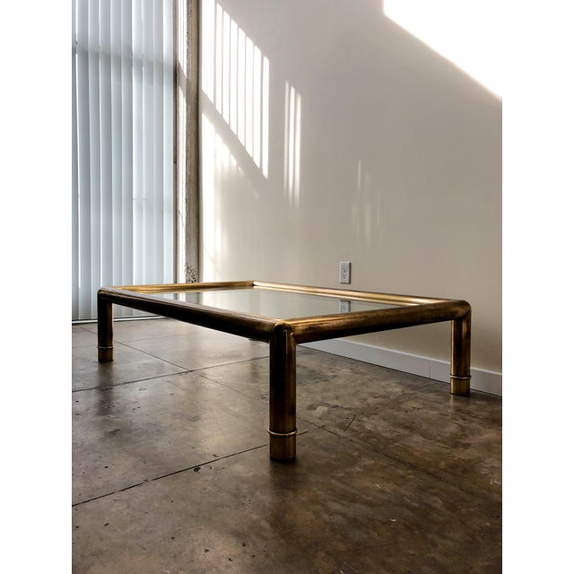 Mastercraft Tubular Brass Coffee Table For Sale - Image 5 of 5