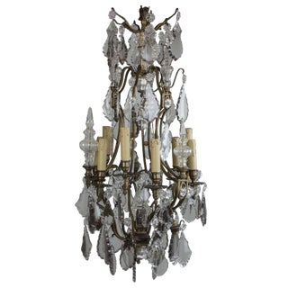 19th Century Chandelier 12-Light For Sale
