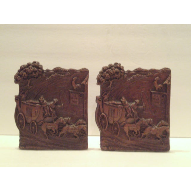 1930's-40's Syroco Bookends - Image 2 of 8