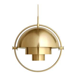 Gubi Multi-Lite Pendant - Shiny Brass For Sale