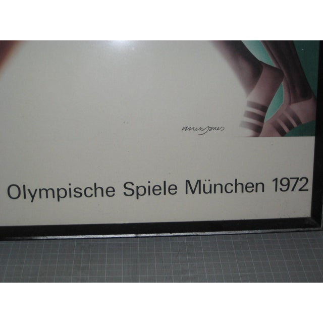 1970s 1972 Olympic Games Munich Original Poster by Allen Jones For Sale - Image 5 of 6