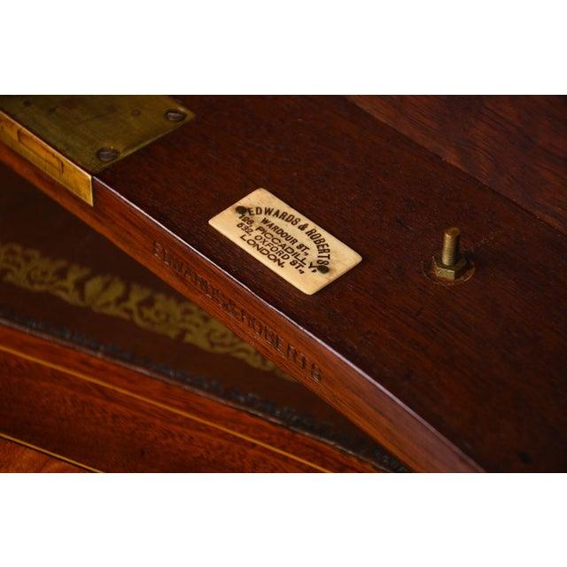 Antique Edwards & Roberts English-Style Desk - Image 11 of 11
