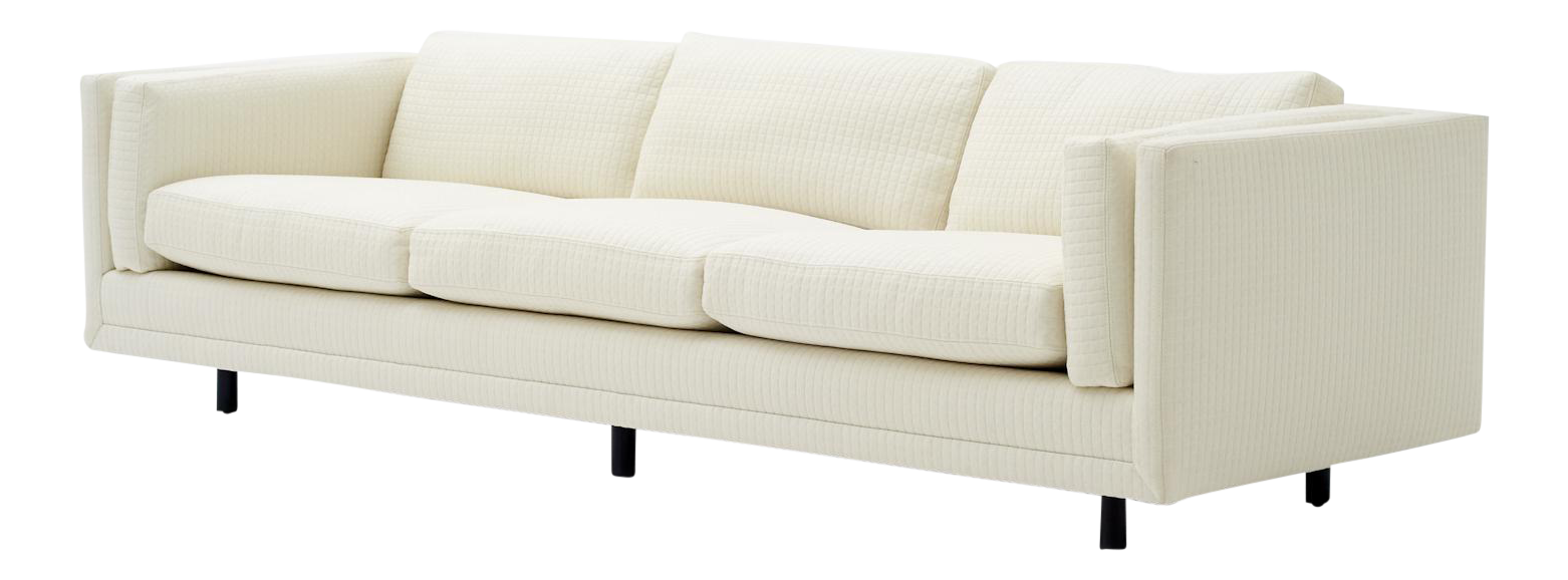 Harvey Probber Tuxedo Style Sofa For Sale