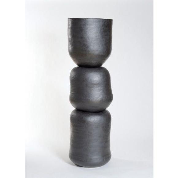 Contemporary Sonja Duò-Meyer (Swiss, B. 1953) 3 Piece Vessel, 2015 For Sale - Image 3 of 3