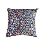 Image of Handwoven Wool Moroccan Berber Pillow For Sale
