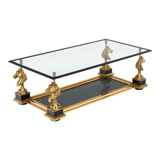 French Art Deco Coffee Table by Maison Charles For Sale