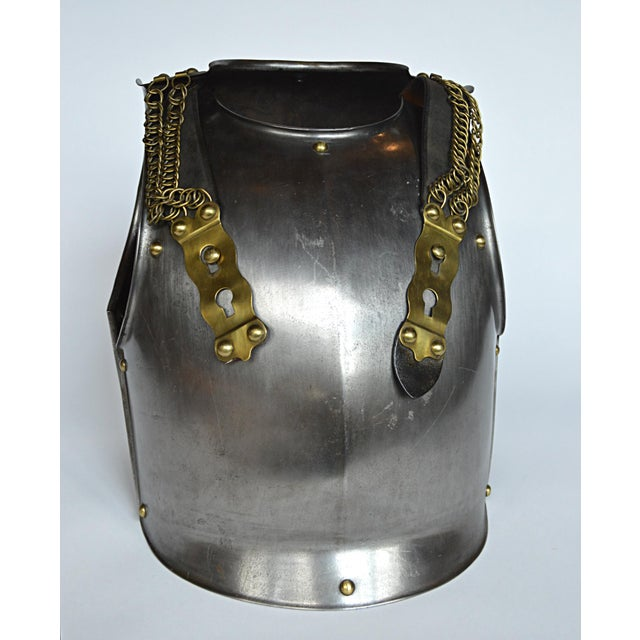 French Cuirassier's Breast and Back Plate For Sale - Image 4 of 11