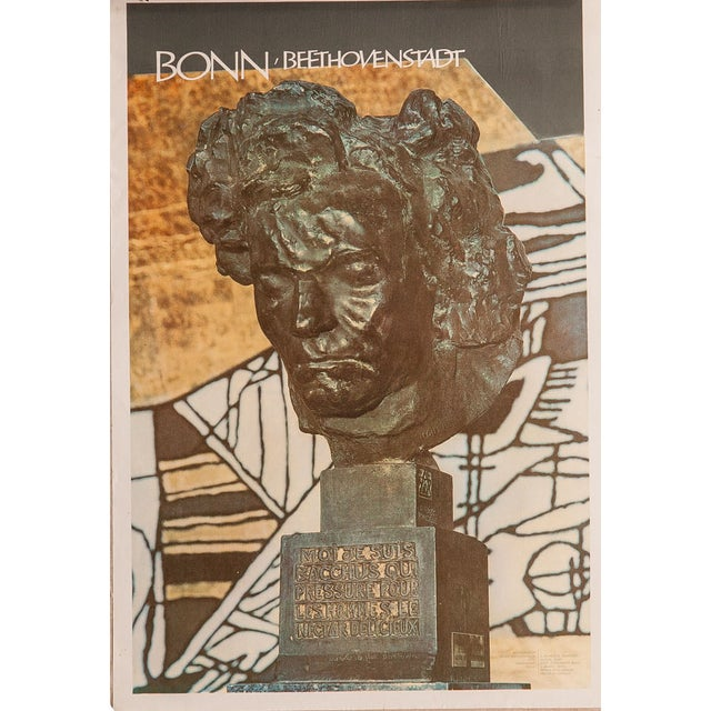 Mid-Century Beethoven Poster For Sale