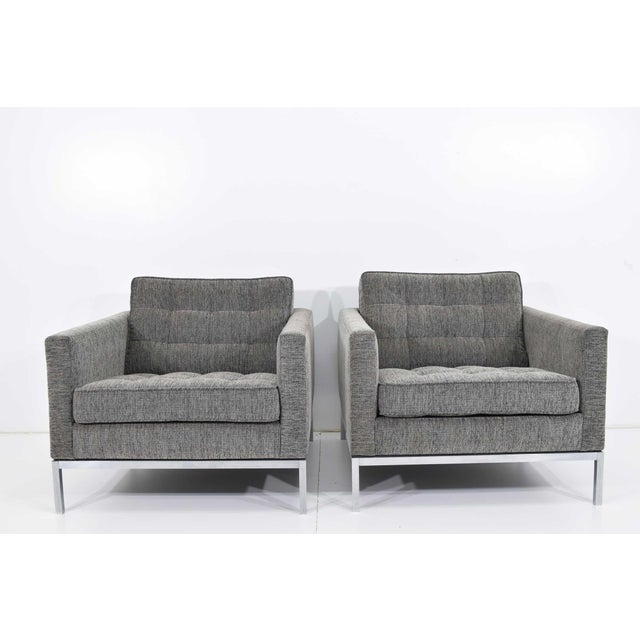 1960s Florence Knoll Chairs - a Pair For Sale - Image 13 of 13