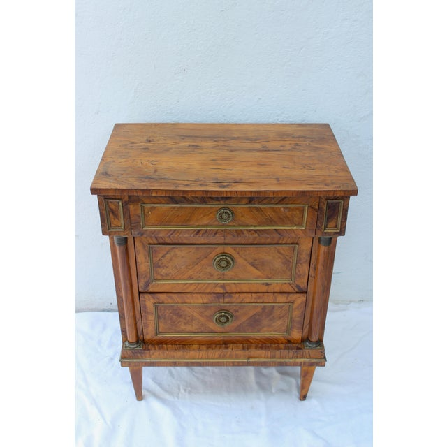 19th Century Italian Fruitwood Nightstand For Sale - Image 11 of 12
