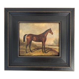 Petite Framed Horse Print For Sale