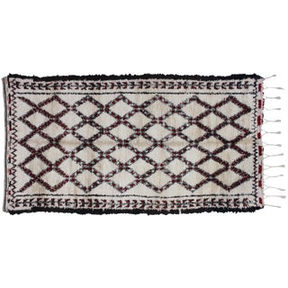 Moroccan Beni Ourain Rug - 11'7'' x 6'9'' For Sale