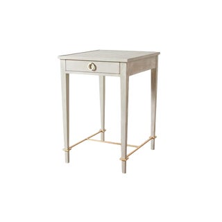 Transitional Jules End Table For Sale