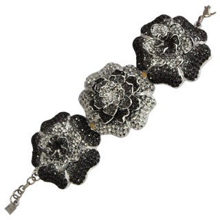Kmo Paris Triple Flower Bracelet For Sale