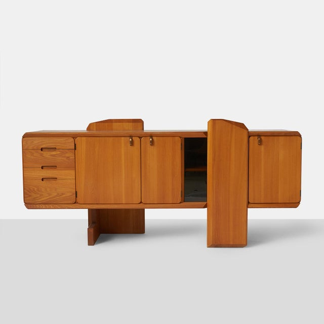 Mid-Century Modern Pierre Chapo R28 Credenza For Sale - Image 3 of 8