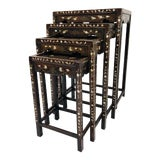Image of Antique Nesting Tables For Sale