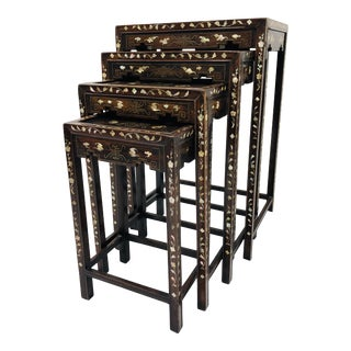 Antique Nesting Tables For Sale