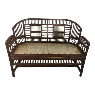 Vintage Brighton Bench For Sale