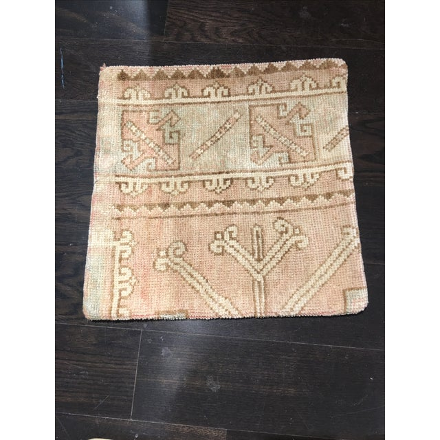 Vintage Anatolian Rug Pillow - Image 2 of 4