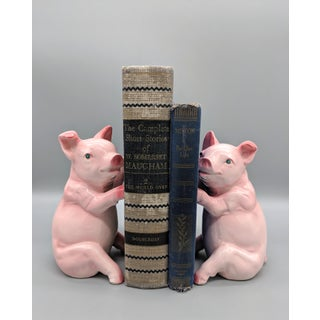 1970s Vintage Pig Bookends - a Pair Preview