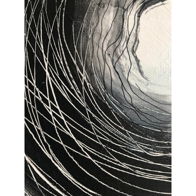 """""""Infinity"""" Original Contemporary Painting For Sale In Charlotte - Image 6 of 11"""