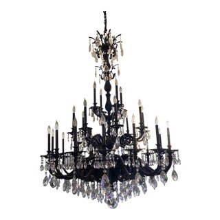 Schonbek Milano 28 Light Chandelier For Sale