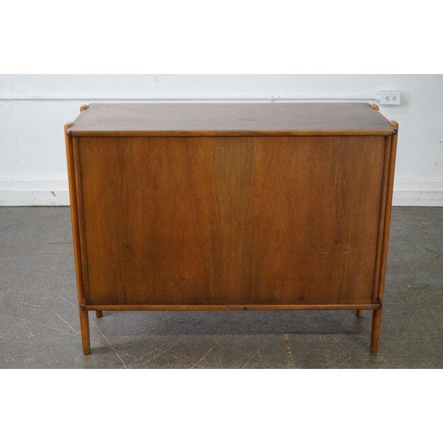 Danish Modern Mid Century Modern 2 Door Server Cabinet For Sale - Image 4 of 10