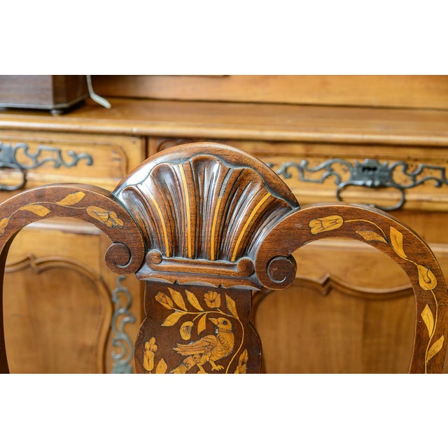 Late 19th C. Dutch Settee For Sale - Image 9 of 11