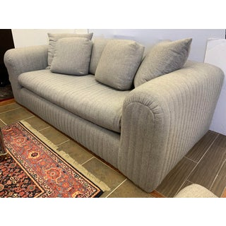 Donghia by John Hutton Gray Sofa Preview