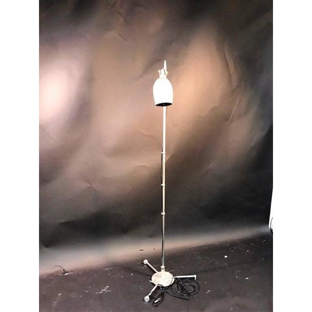 Exceptional art deco aluminium floor lamp in the manner of warren art deco aluminium floor lamp in the manner of warren mcarthur image 2 of 6 aloadofball Image collections