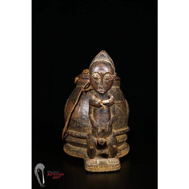 Baule African Tribal Divination Bowl - Image 5 of 11