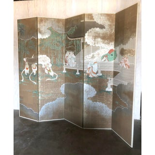 Post War Japanese Diety Screen Room Divider Preview