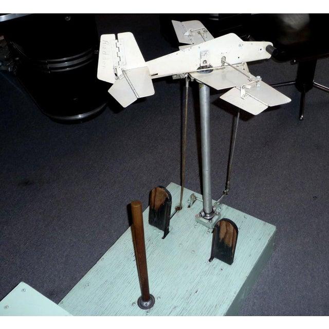 1930's Mechanical Flight Simulator For Sale - Image 4 of 10