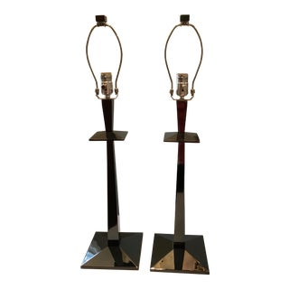 West Elm Table Lamps - Pair