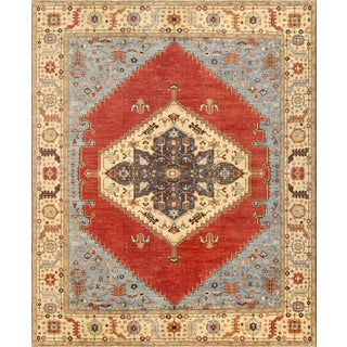 "Pasargad Serapi Wool Area Rug - 12'2"" X 15'2"" For Sale"