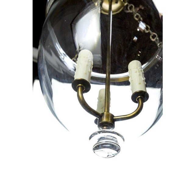 Blown Glass Traditional Style Contemporary Bell Jars (4 Available) For Sale - Image 7 of 9