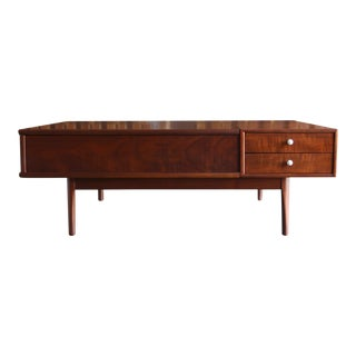 "1960s Mid-Century Modern Kipp Stewart & Stewart MacDougall for Drexel ""Declaration"" Coffee Table For Sale"