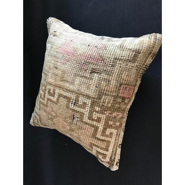 Anatolian Handwoven Vintage Pillowcase For Sale - Image 9 of 11