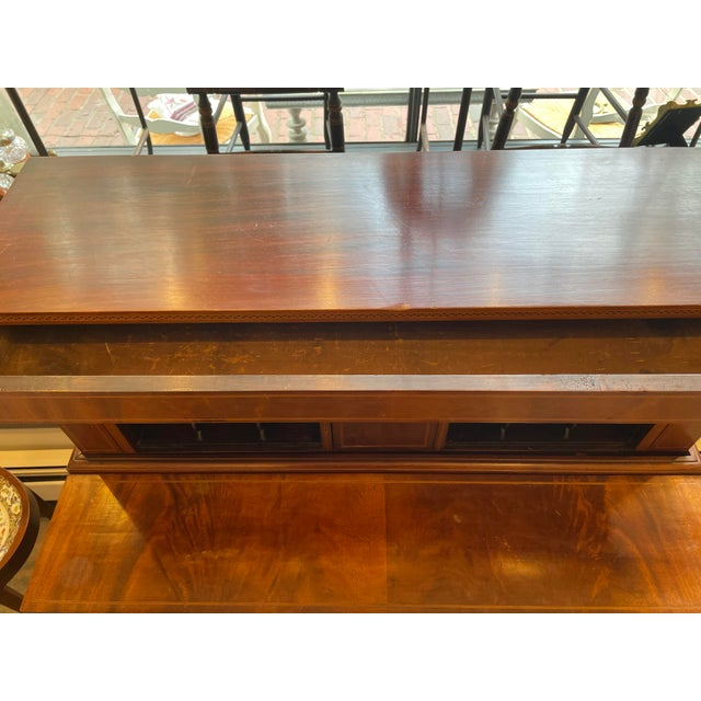 19th Century George Hepplewhite Tambour Desk For Sale In Boston - Image 6 of 13