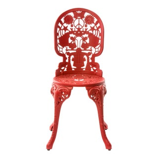 Seletti, Industry Chair, Indoor/Outdoor, Red, Studio Job, 2017 For Sale