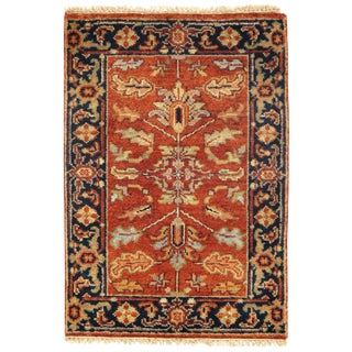 "Traditional Pasargad N Y Serapi Design Hand-Knotted Rug - 2'1"" X 3'2"" For Sale"