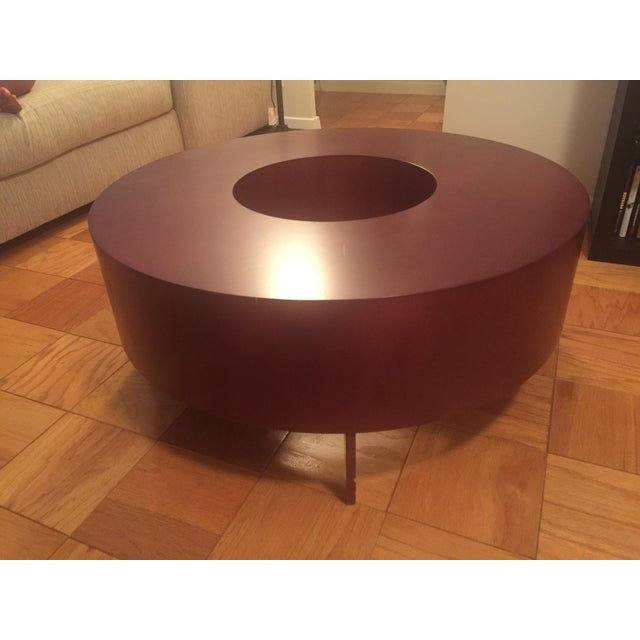 Red Round Coffee Table - Image 4 of 10