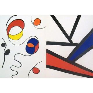Alexander Calder Derriere Le Miroir No.173 Page-1968 Lithograph