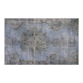 "Nalbandian - 1960s Overdyed Turkish Rug - 3'8"" X 5'11"" For Sale"