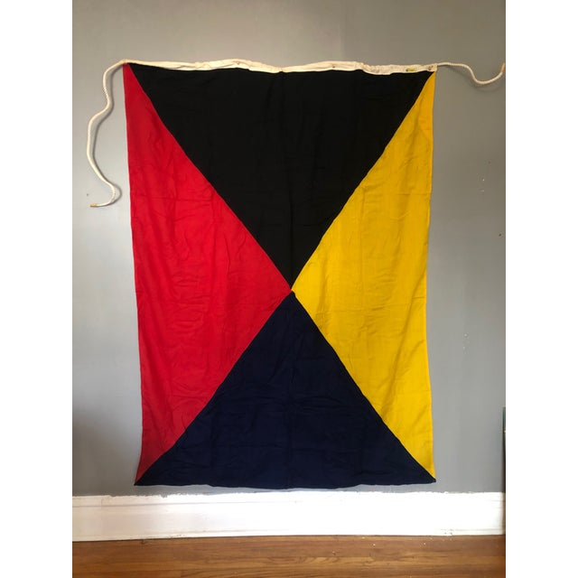 """""""Z"""" Maritime Signal Flag For Sale In Chicago - Image 6 of 6"""