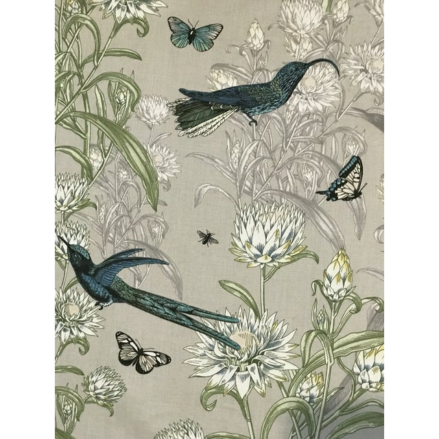 Blendworth Menagerie Enchanted Forest Cotton Fabric 6 Plus Continuous Yards For Sale - Image 9 of 10