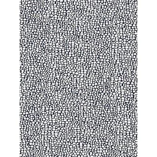 Sample, Scalamandre Stingray, Indigo Fabric For Sale