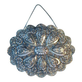 Silver Turkish Wedding Mirror