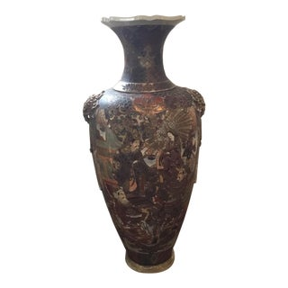 Chinese Large Scale Floor Vase or Urn For Sale